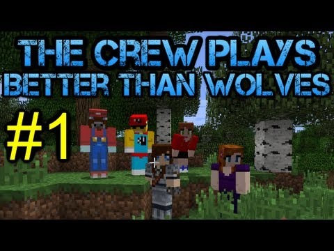 Minecraft - Better Than Wolves Let's Play - Episode 1