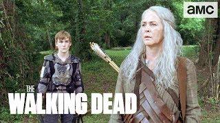 'Carol & Henry Visit Daryl' Sneak Peek Ep. 907 | The Walking Dead - AMC