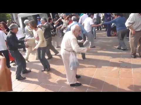 Old Man Throws His Cane to Dance - Remix