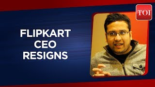 Flipkart CEO Binny Bansal resigns after misconduct probe - TIMESOFINDIACHANNEL