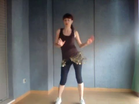 RUTINA CARDIO INSPIRADA EN DANZA DEL VIENTRE - Reduce cintura y Adelgaza las caderas