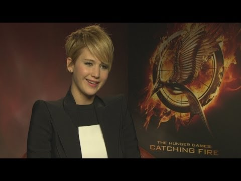 Jennifer Lawrence Catching Fire interview: snogging the Hunger Games boys isn't awkward