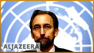 UN human rights chief al-Hussein makes final public address | Al Jazeera English - ALJAZEERAENGLISH