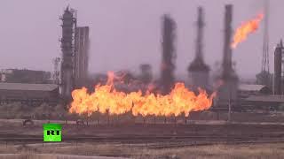 'The eternal fire': Iraq retakes Kirkuk oil fields from Kurds - RUSSIATODAY