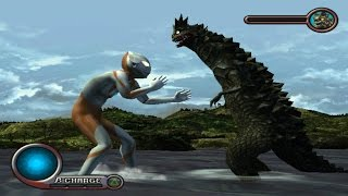 Ultraman PS2 (Story Mode Part 1) Ultraman vs Bemular