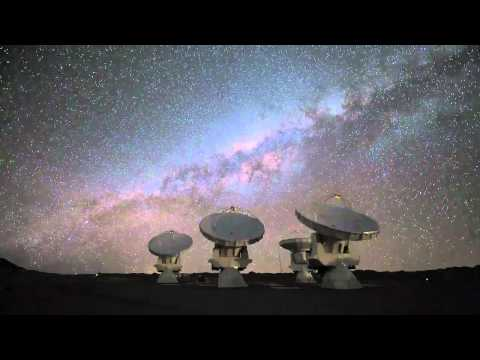 Alma Timelapse, Atacama Desert