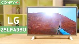 LG 28LF498U - небольшой телевизор с широкими возможностями - Видео демонстрация