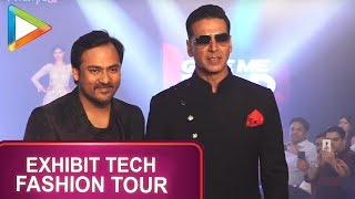 Akshay Kumar Walks for Lalit Dalmia at Exhibit Tech Fashion Tour - HUNGAMA
