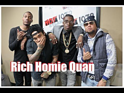 Rich Homie Quan - Rich Homie Quan Talks Taking A Break From Rich Gang & His New Sound