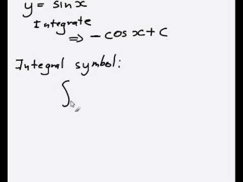 Basic integration for calculus