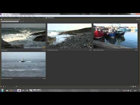 Premiere Pro Basics CS6 & above: 7 Matched Sequences & Bins