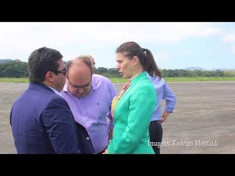 Aeroporto de Guarujá deve operar só em março de 2019