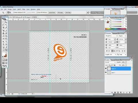 How to make a brochure in Photoshop