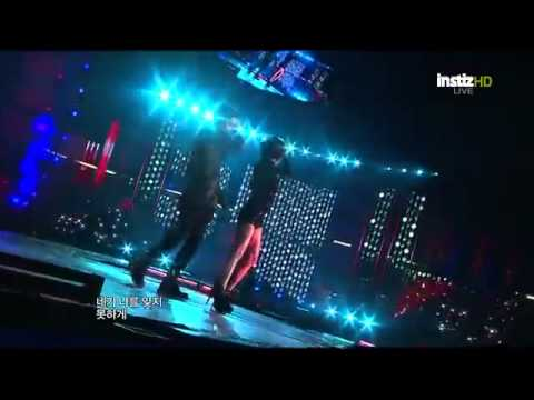 [120101] Jo Kwon (2am) & Gain (BEG) - Trouble Maker [2011 MBC Gayo Daejun]