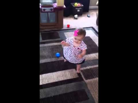 Great walking skills at 8 months old