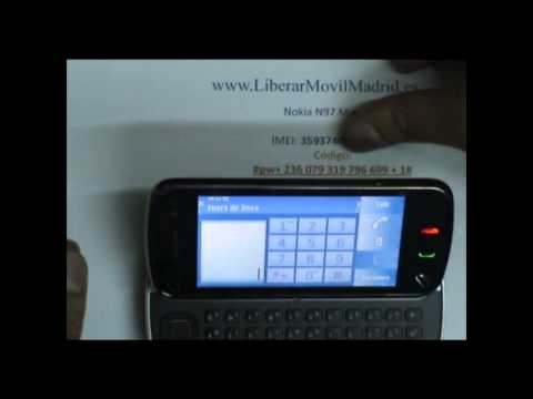 Liberar Nokia N97 Movistar por Código IMEI - www.LiberarMovilMadrid.es