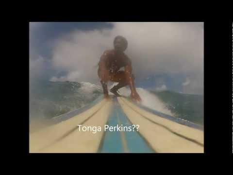 Tongan/Samoan Longboarding