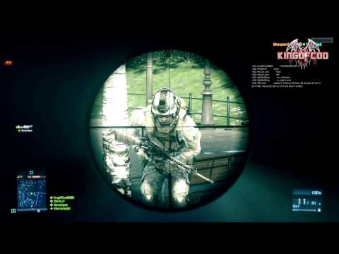 Battlefield 3 Sniping Tutorial Tips/Tricks ( Bolt Action )