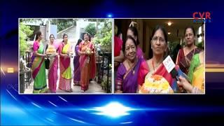 Bonsai Bathukamma Celebrations at Jubilee Hills Friends Bonsai Society in Hyderabad | CVR News - CVRNEWSOFFICIAL