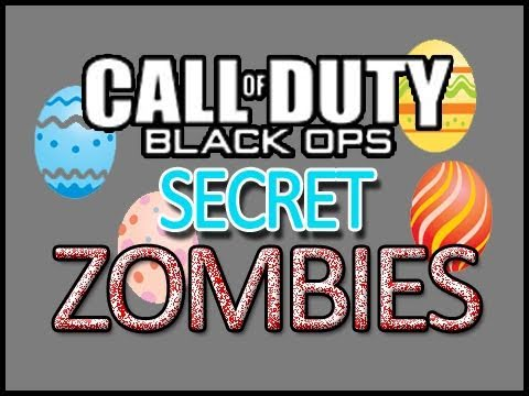 NEW! Black Ops: ZOMBIES Ascension - MYSTERY MAN EASTER EGG, Gersch Device Secret!