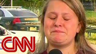 Student's tearful tribute to slain teacher: He saved my life - CNN