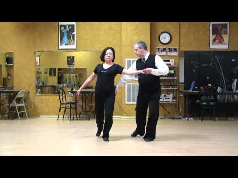 Viennese Waltz Lecture 9, Use of Standing Leg