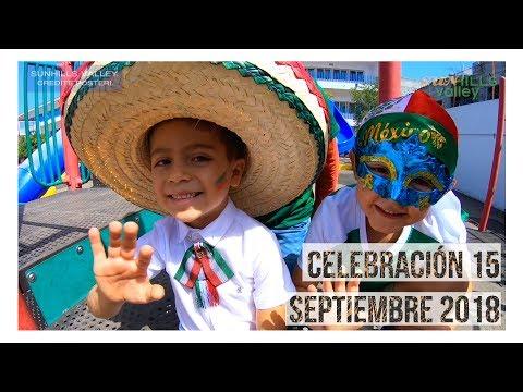Celebración del 15 de septiembre 2018