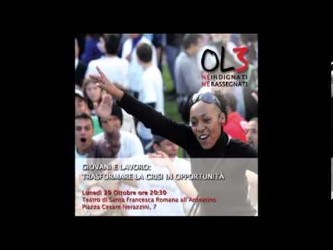 """OL3 incontri di formazione """"Giovani e lavoro: trasformare la crisi in opportunità"""""""