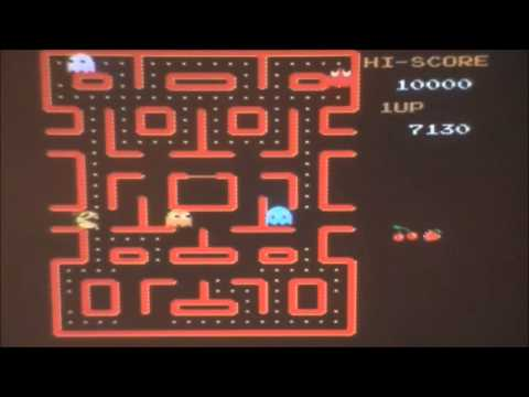 Ms. Pac Man NAMCO AZWC Review for the NES