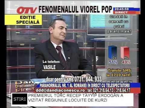 Viorel Pop in direct la OTV cu telespectatorii