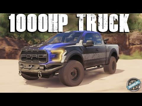 1000HP TROPHY TRUCK! - 2017 Ford F-150 Raptor Race Truck || Forza Horizon 3