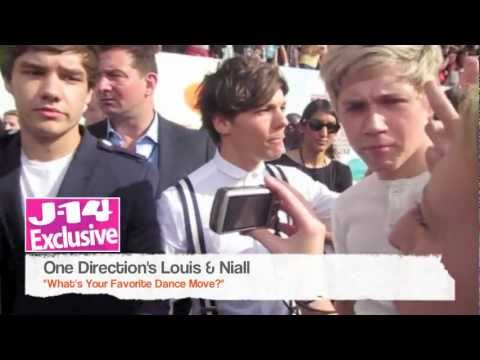 J-14 Exclusive: One Direction's Louis Tomlinson and Niall Horan's Favorite Dance Move