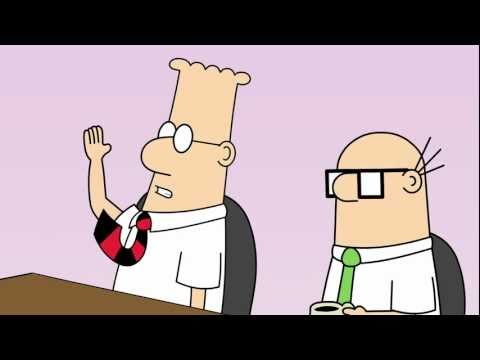 Dilbert Animated Cartoons - Doomed Dependency, Impossible Work and Powerpoint Presentation