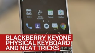BlackBerry KeyOne has a physical keyboard filled with neat tricks - CNETTV