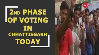 Second phase of voting to take place in Chhattisgarh today - ZEENEWS