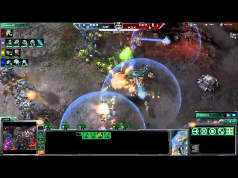 Spring Arena 1 2v2 Tournament - DongRaeGu (Z) & MC (T) vs Huk (P) & MarineKing (T) - Game 3