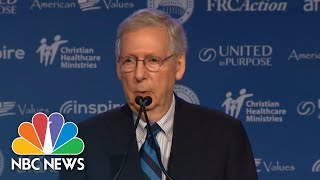 Mitch Mcconnell: Brett Kavanaugh Will Be On Supreme Court, In 'Very Near Future' | NBC News - NBCNEWS