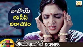Rachayitha 2018 Telugu Movie Scenes | Sanchita Padukone Showcases Private Parts | Vidya Sagar Raju - MANGOVIDEOS