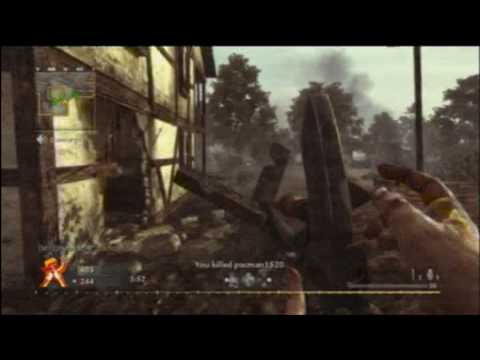 Pyrotoz COD5 Team Deathmatch (Widescreen Commentated) 14 - Seelow