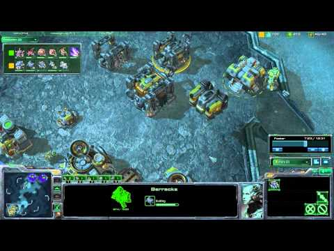 StarCraft 2 - [T] Transition From Hellion Banshee Into Marine Tank - Strategy