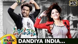 Dandiya India Video Song | Oosaravelli Telugu Movie | Jr NTR | Tamanna | DSP | Mango Music - MANGOMUSIC