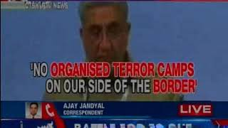 Pak terror Army: No organised terror camps on our side of the Border says  Gen Qamar - NEWSXLIVE