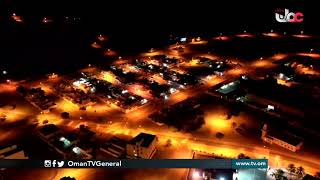 مشاهد جوية من ولاية #بخاء بعد سريان فترة #منع_الحركة