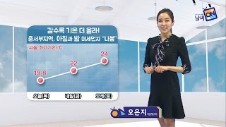 [날씨정보] 04월 27일 17시 발표