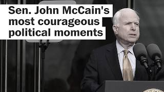 McCain's most courageous political moments - WASHINGTONPOST