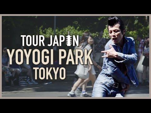 Visiting Yoyogi Park: Rockabily dancers, bike rentals, performers