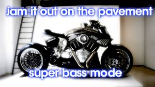 Royalty Free :Jam it Out on the Pavement Super Bass Mode