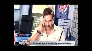 Ajay Devgan upset with Prabhudeva due to CREATIVE differences! | Bollywood News