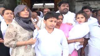 Mahesh Babu Family Visits Tirumala   TFPC - TFPC