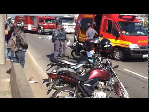 Motoqueira, Acidente fatal na Av. Jacu Pêssego-SP